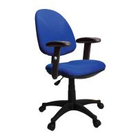 Java 100 Entry Level High Backrest Operator Chair. Height Adjustable Arms. Various Colours